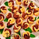 Турецкое печенье с кокосом