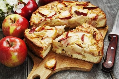 Пирог «Заливные яблоки»