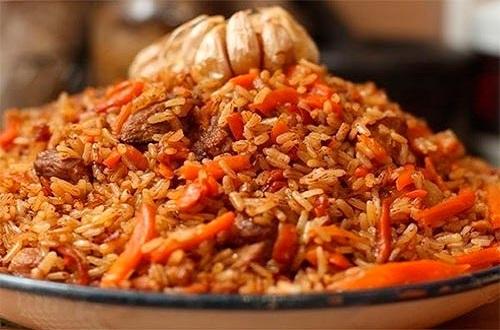 Узбекский плов из рис девзира