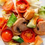 Салат «Оливье по-вегетариански»