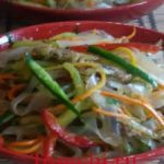 Koreyscha rediskali salat