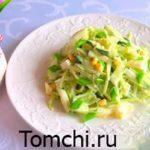 Pamidor va bodringdan ispancha salat